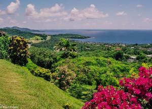 Nádherný výhled od pevnosti King George na ostrově Tobago (Mart Eslem)