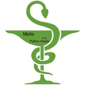 Cover art for Mella and the Python Healer