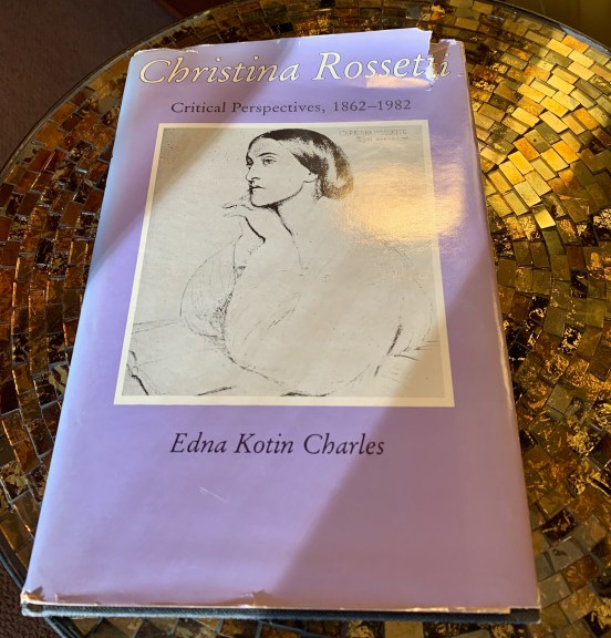 It's simplistic to say that it is a book about Christina Rossetti. It is a scholarly work on literary criticism of Rossetti's poetry during her life and at different periods of critical thinking. It makes very interesting reading if you're interested in poetry and feminism, or poetry or feminism...