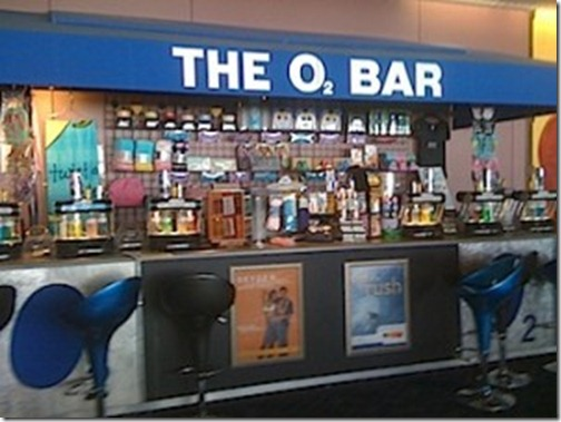 O2 Bar las vegas airport