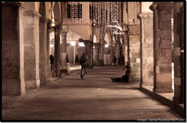 Borgo Stretto, Pisa. Italy