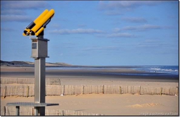 Calais beach. Calais France