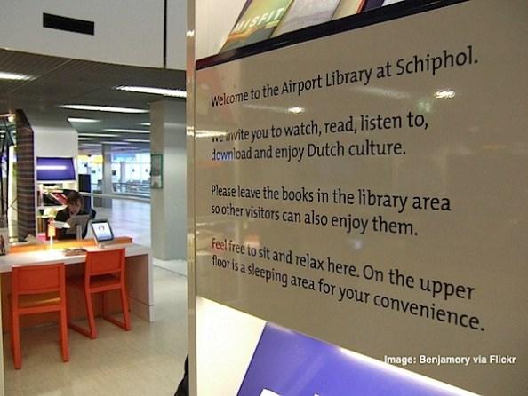 Amsterdam Schipol Airport library.jpg