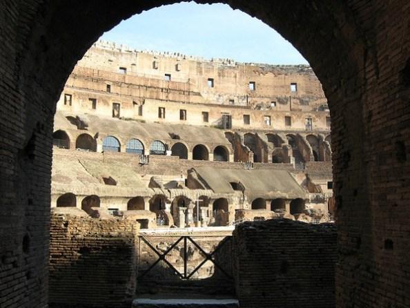Roman Colliseum Rome Italy