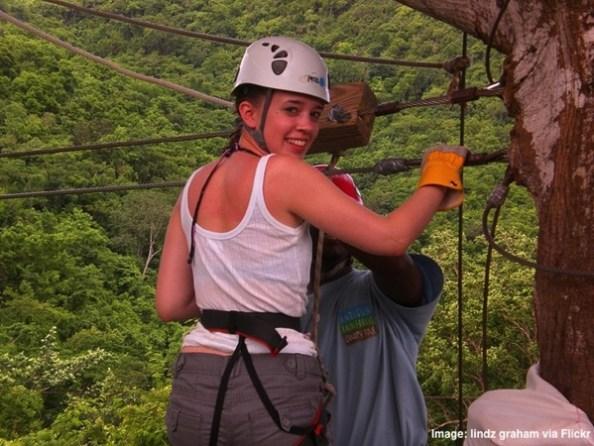 Antigua Rainforest Canopy Tour zip line