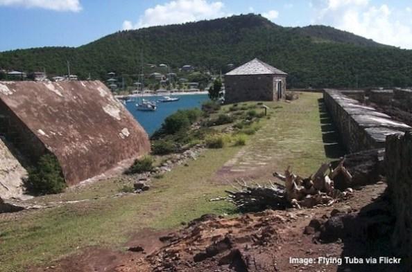 Antigua fort