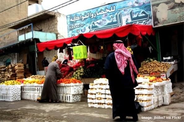 Jordan food market