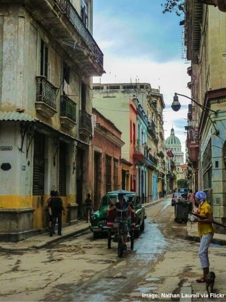 Old Streets of Havana Cuba