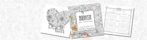 Bookish Adult Coloring Book by Martha Sweeney