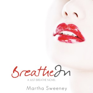 Breathe In by Martha Sweeney book cover iPad Wallpaper