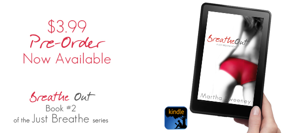 preorder breathe out by martha sweeney on kindle