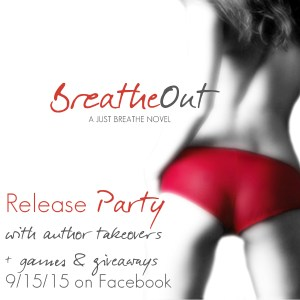 Breathe Out by Martha Sweeney book release party