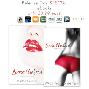 Breathe Out Book Release Special Sale