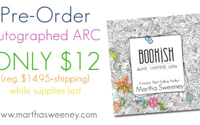 Pre-Order Bookish: Adult Coloring Book ARC for ONLY $12