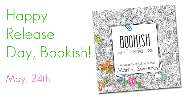 Bookish Adult Coloring Book May 24th Book Release Day