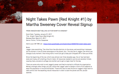 Knight Takes Pawn (Red Knight #1) Book Cover Reveal Signup