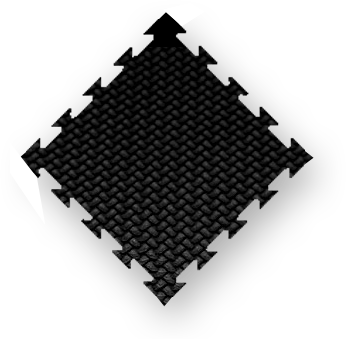 black MMA mats