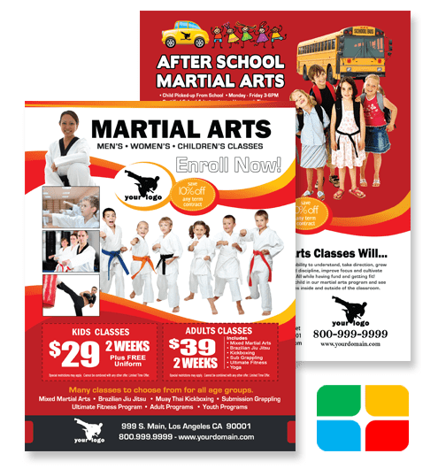Martial Arts Flyers