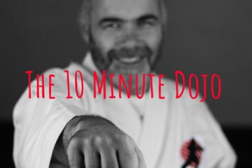 The 10 Minute Dojo Podcast Logo