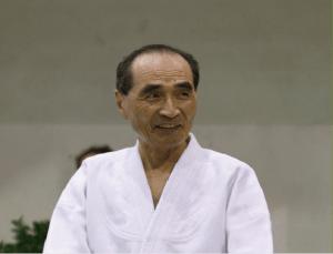 Hiroshi Tada allievo di O'Sensei Morihei Ueshiba