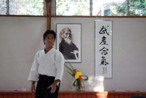 Mitsuteru Ueshiba figlio di Moriteru Ueshiba