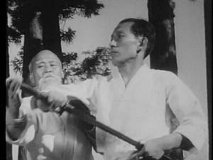 O'Sensei Morihei Ueshiba e Kisshomaru Ueshiba
