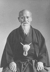 Morihei Ueshiba fondatore dell'Aikido