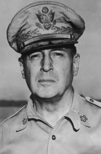 Douglas MacArthur - karate timeline