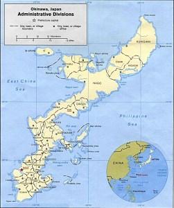 Mappa Okinawa