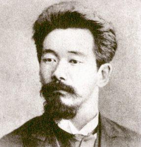 Jigoro Kano (1860-1938), all'età di 22 anni