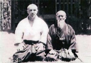 Andrè Nocquet e Morihei Ueshiba