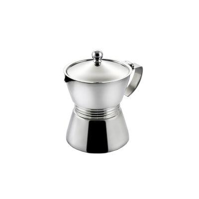 caffettiera in acciaio con fondo induzione 1 tazza Atene
