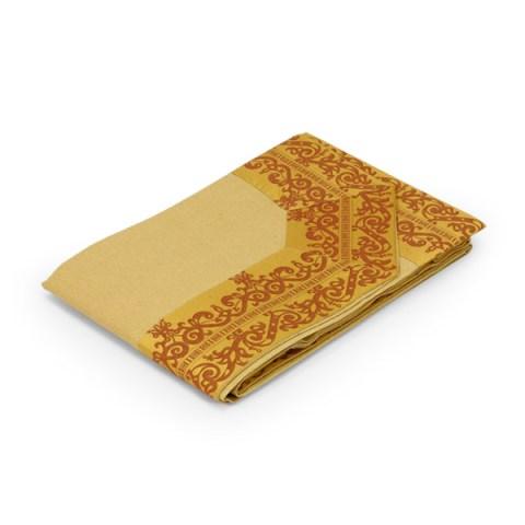copriletto oro balza gilda martica