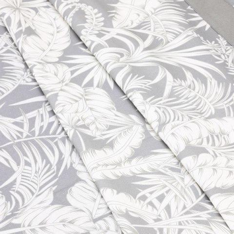 Tovaglia colore grigio in tessuto panama di cotone - Palma