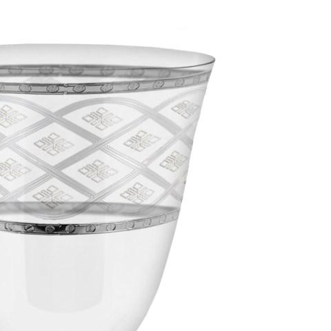 Servizio di bicchieri con incisione e decorazione platino - Carisma