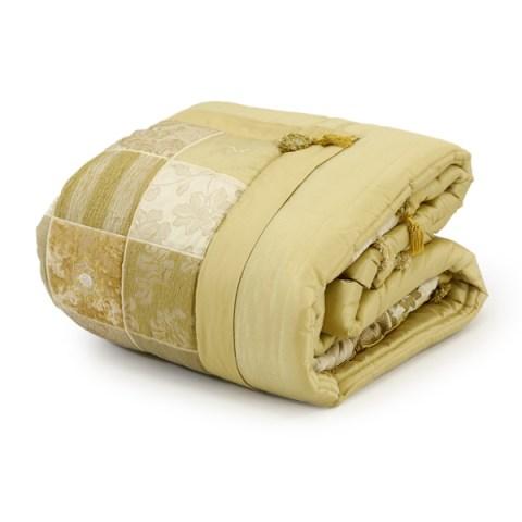 Trapunta per il corredo della sposa e biancheria arredamento con coppia di cuscini coordinati