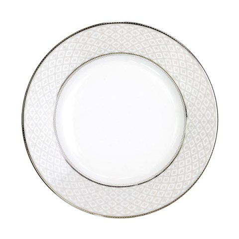 Servizio porcellana decoro filo platino - Carisma