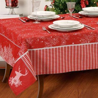 Set tovaglie natale rosse - Rudolph