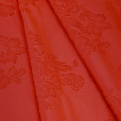 Tovaglia fiandra colore rosso 8 e 12 persone cotone
