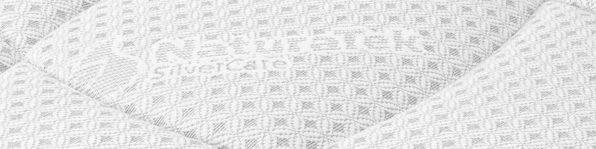 Materasso in tessuto fibra d'argento anallergico e battericida