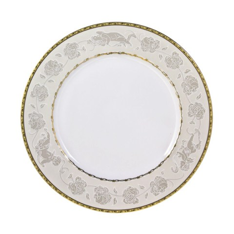 Set piatti decorazione oro angeli fine porcellana
