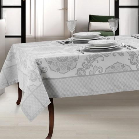 Tovaglia moderna colore grigio telaio - Noemi