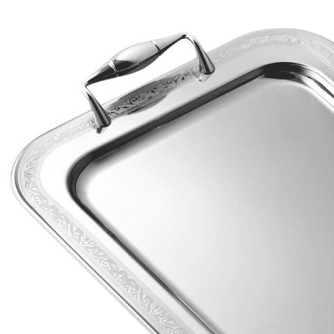 Vassoio acciaio inox 18-10 roma