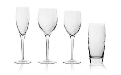 Completo bicchieri 50 pezzi ottico - Corinne