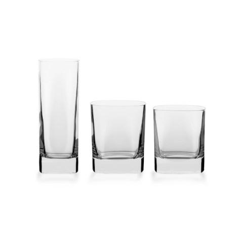 Servizio bicchieri 38 pezzi quadrato - Cosmo