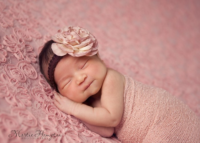 baby girl beautiful newborn infant photography