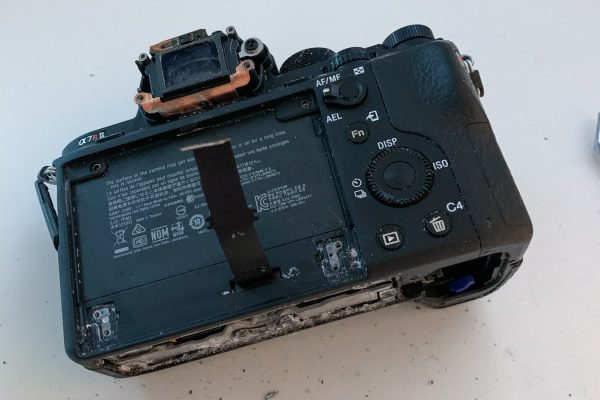 Teardown Sony A7RII-2
