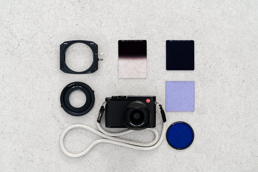 Leica Q and Nisi Filters