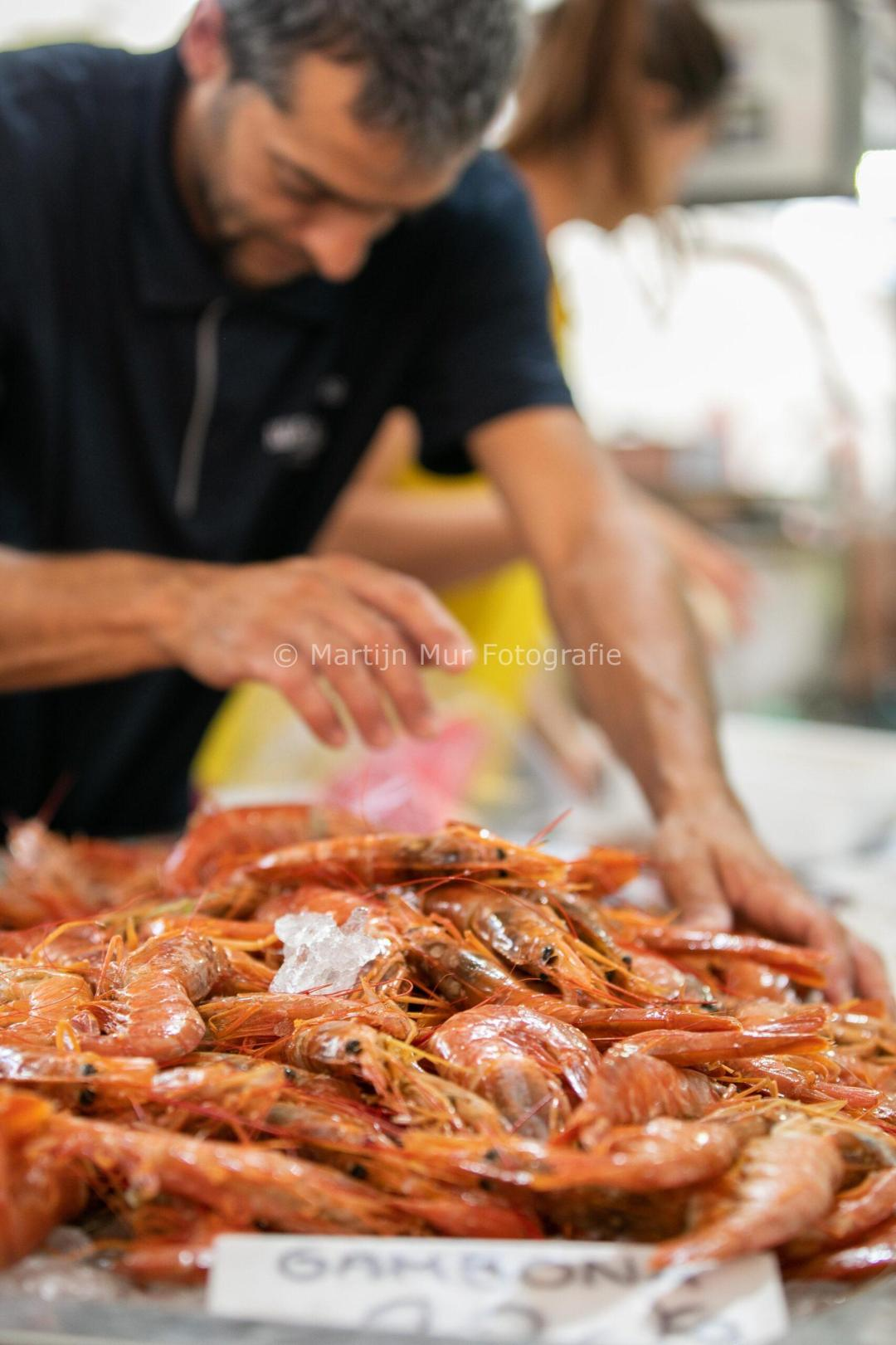 portretfotografie, beroep in beeld, bedrijfsfotografie, visverkoper, markt