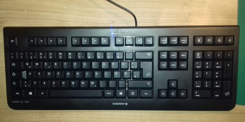 Cherry KC 1000 USB Tastatur